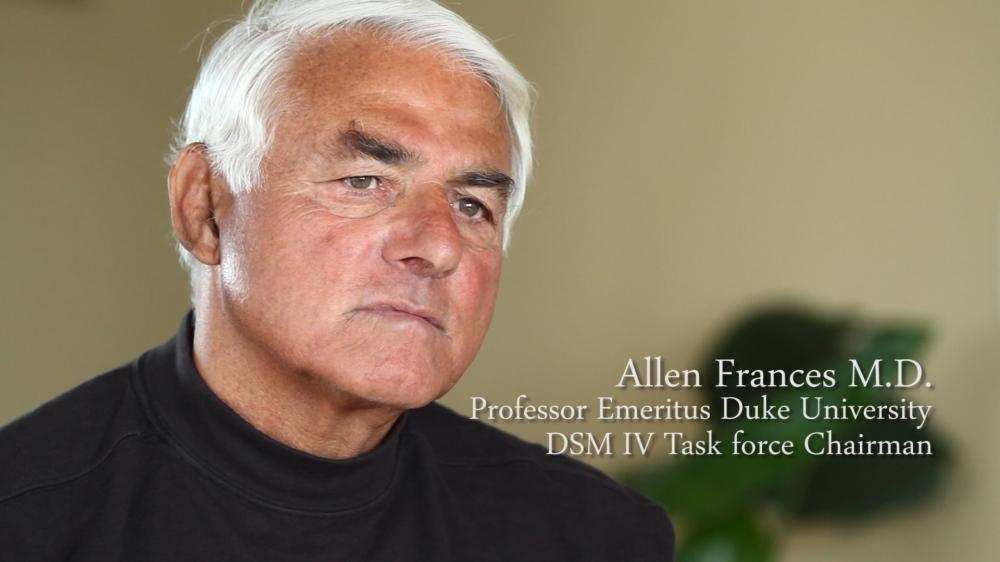 Il Prof. Allen Frances